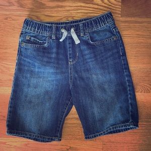 Boys size 8 pull on jean shorts